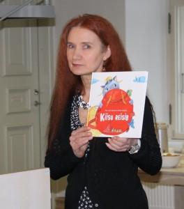 Viive Noor lastekirjanduse aastakoosolekul 5. märtsil 2012