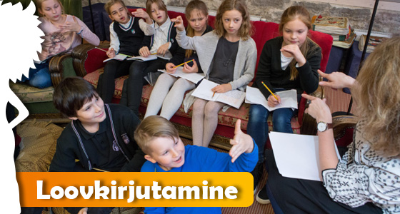 Lastekirjnduse keskuse loovkirjutamise ring