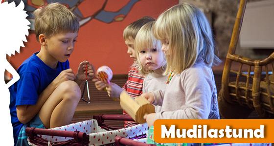 Mudilastund lastekirjanduse keskuses