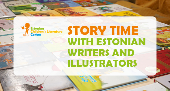 Story Time with Estonian Writers and Illustrators banner